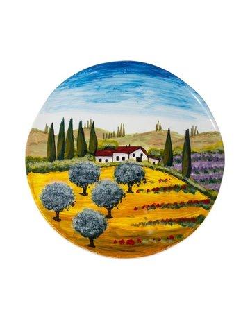 Tuscany round plate