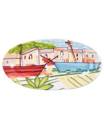 Portofino oval platter