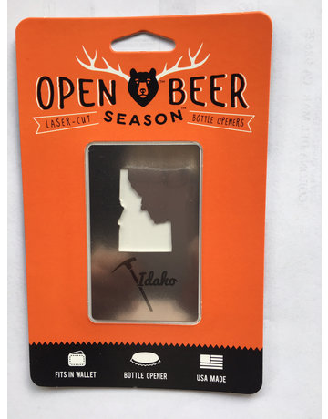 Idaho wallet bottle opener