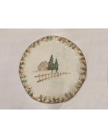 Arte trees round platter