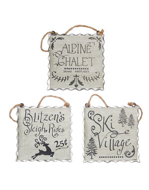 Alpine holiday ornament