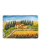 Tuscany wall plate rectangle