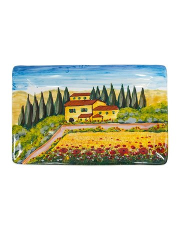 Tuscany wall plate rectangle
