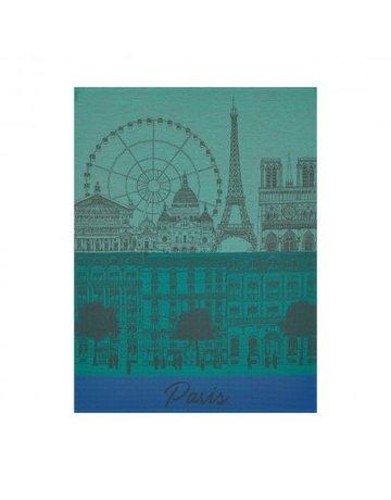 LJF Paris panorma tea towel