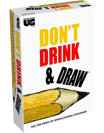 Don't Drink and Draw Card Game