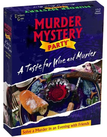 Taste for Wine and Murder