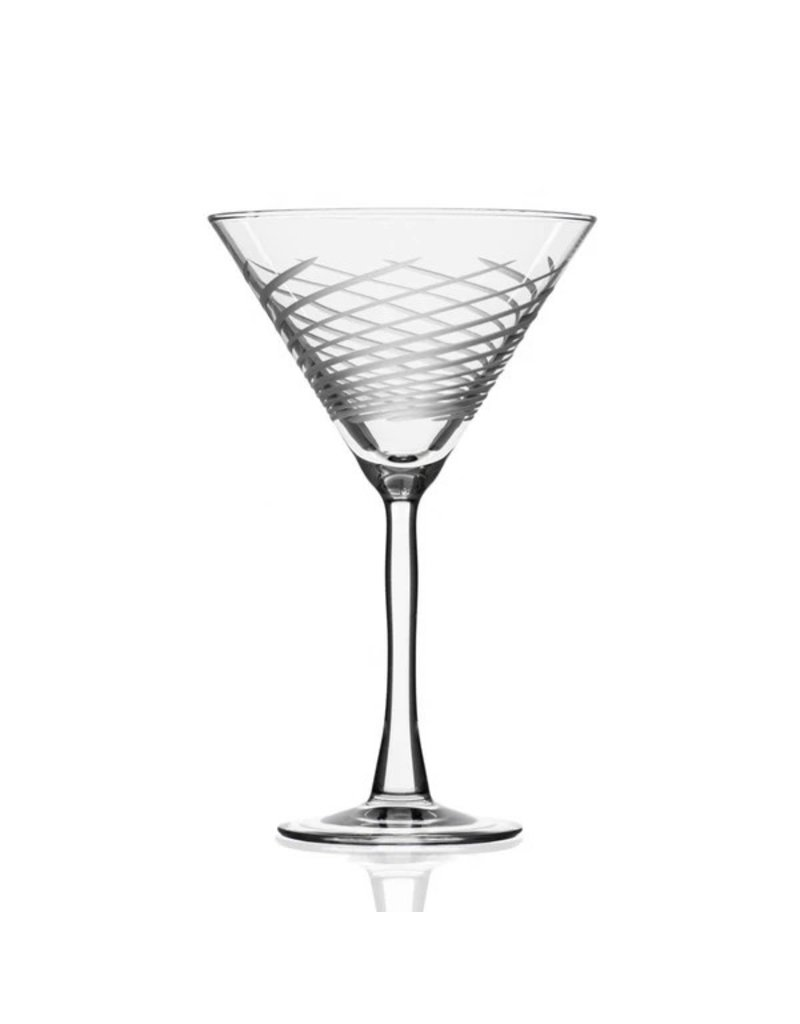 Cyclone martini glass