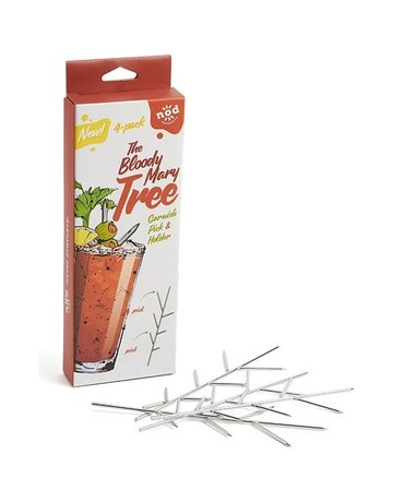 Bloody Mary Tree Garnish Pick(set of 4)