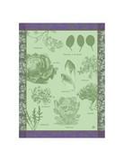 LJF Salades Illustrees tea towel