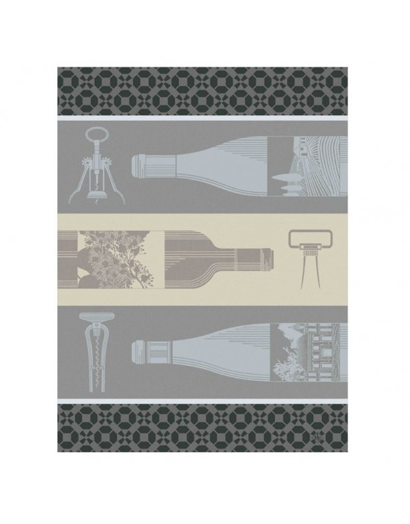 LJF Vin en Bouteille tea towel