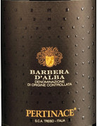 2016 Pertinace Barbera d'Alba