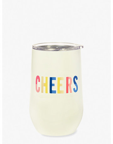 Stainless Cheers tumbler