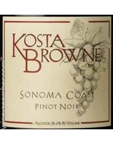 2018 Kosta Browne RRV and SC Pinot Noirs