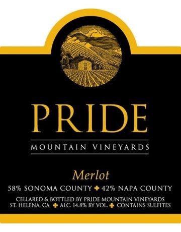 2017 Pride Merlot