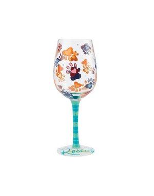 Rescue wine glass