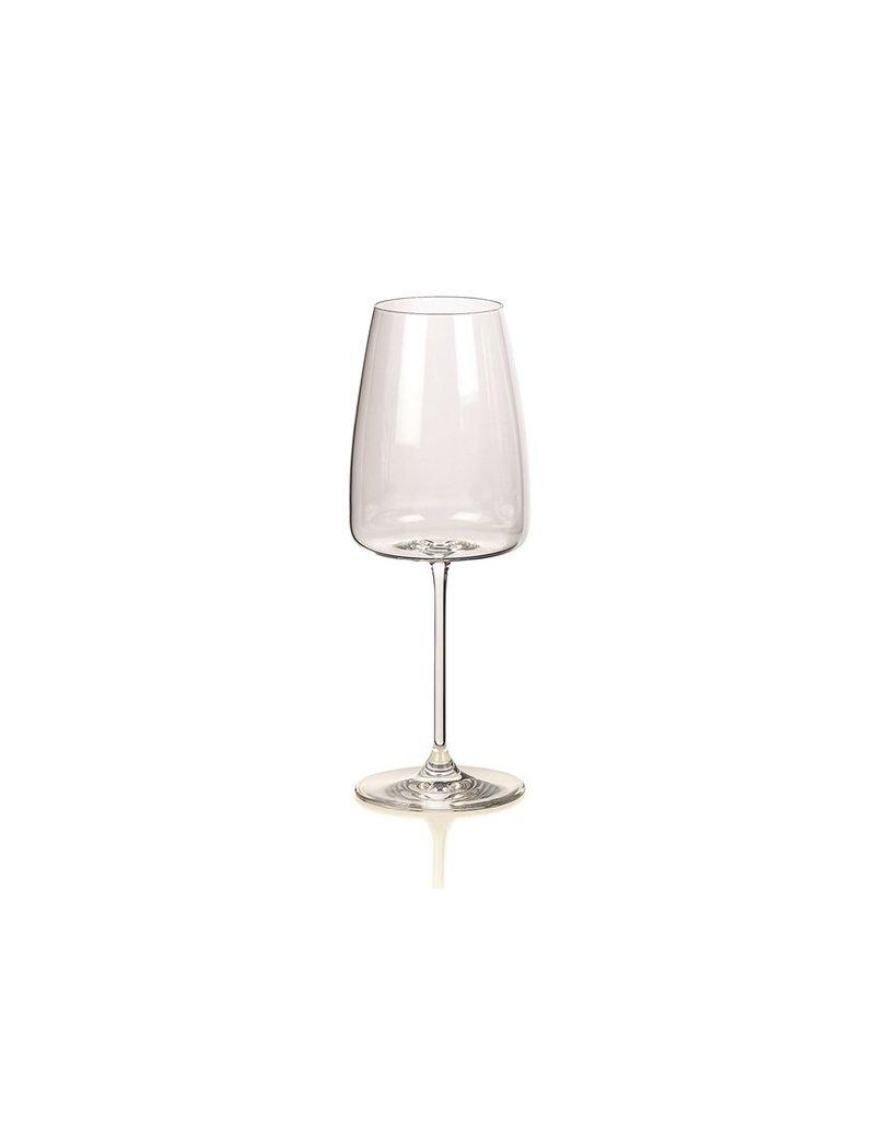 Italian white wine glass