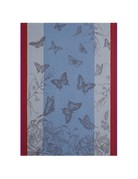 Jardin de Papillons tea towel