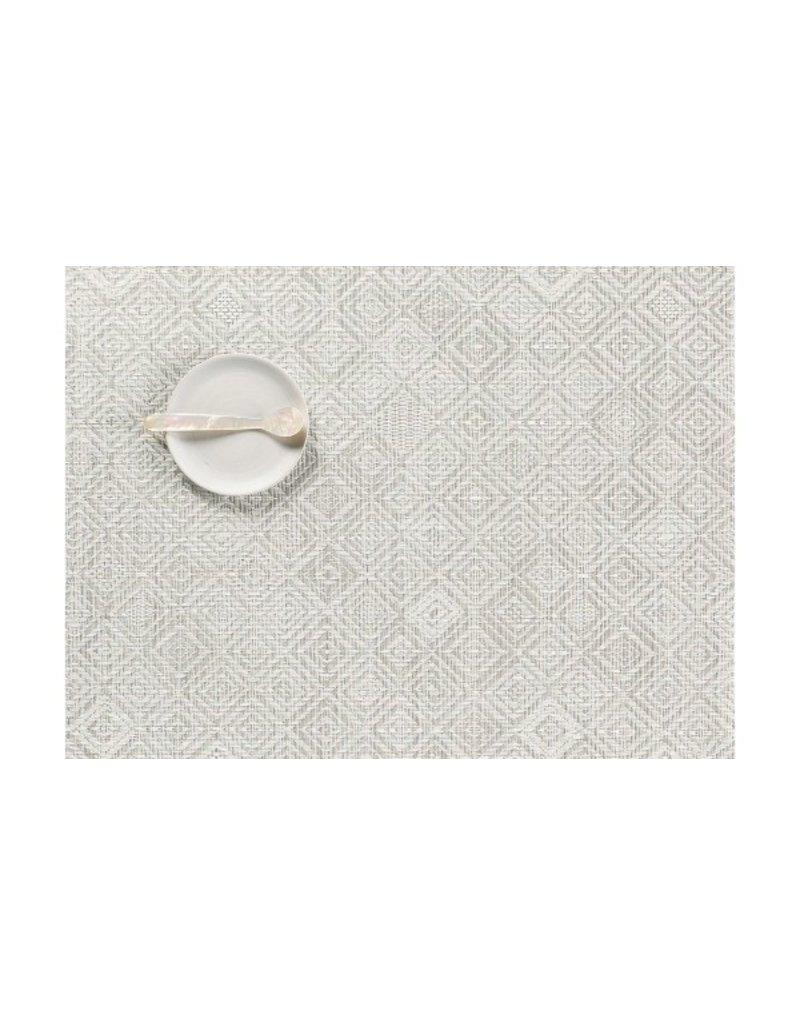 Mosaic grey placemat
