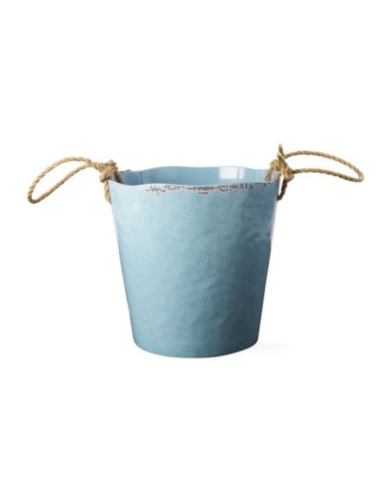 Aqua melamine wine bucket