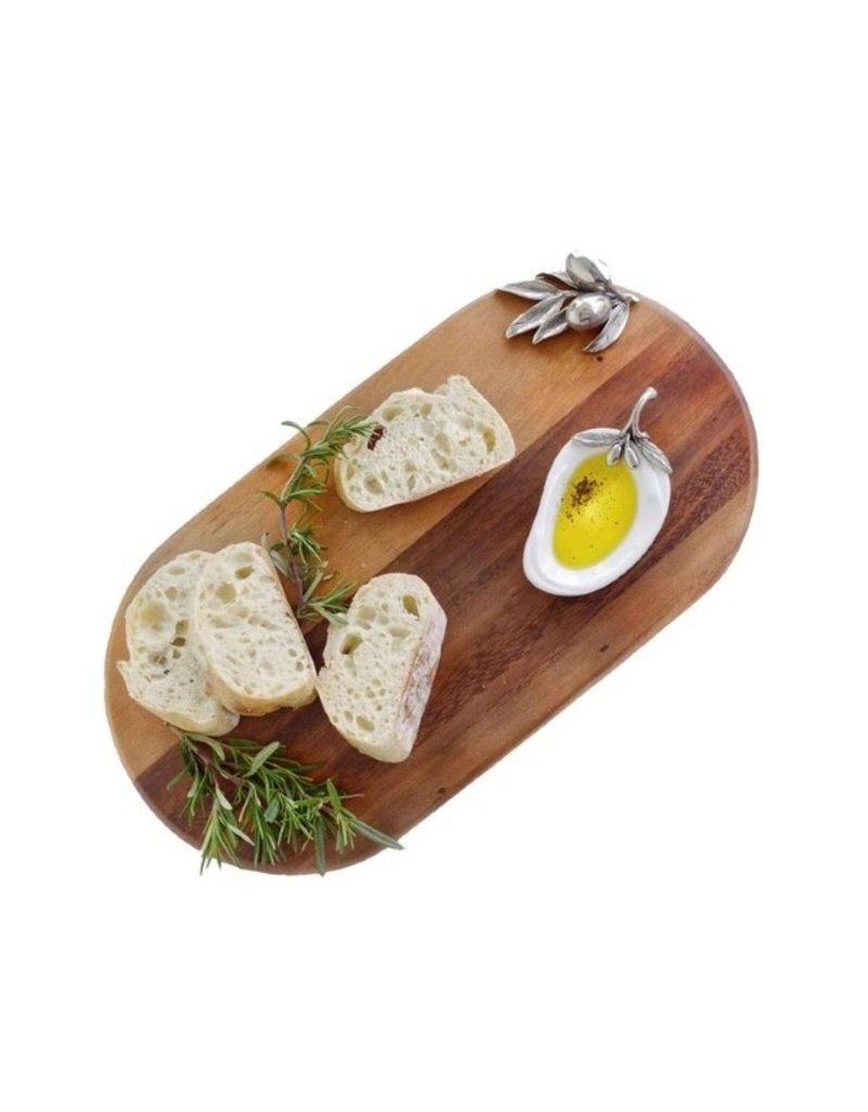 Pewter olive bar board