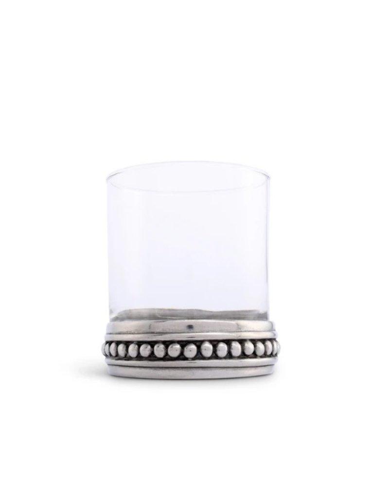 Glass DOF pewter base