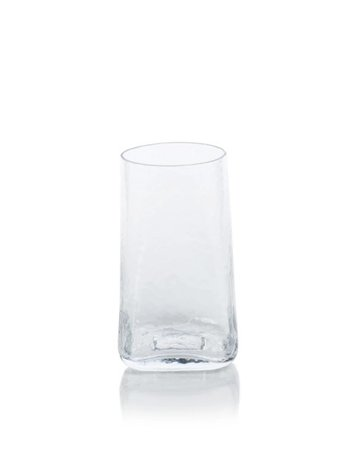 Hammered shot glass