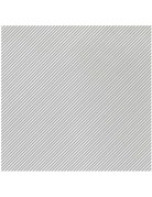 Papersoft gray stripe bev napkin