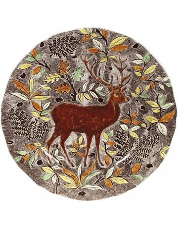 Hand painted Stag platter