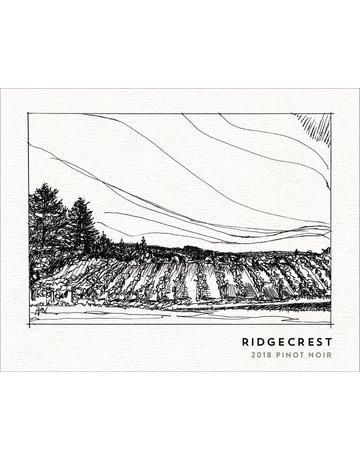 2018 Ridgecrest Ribbon Ridge Pinot Noir