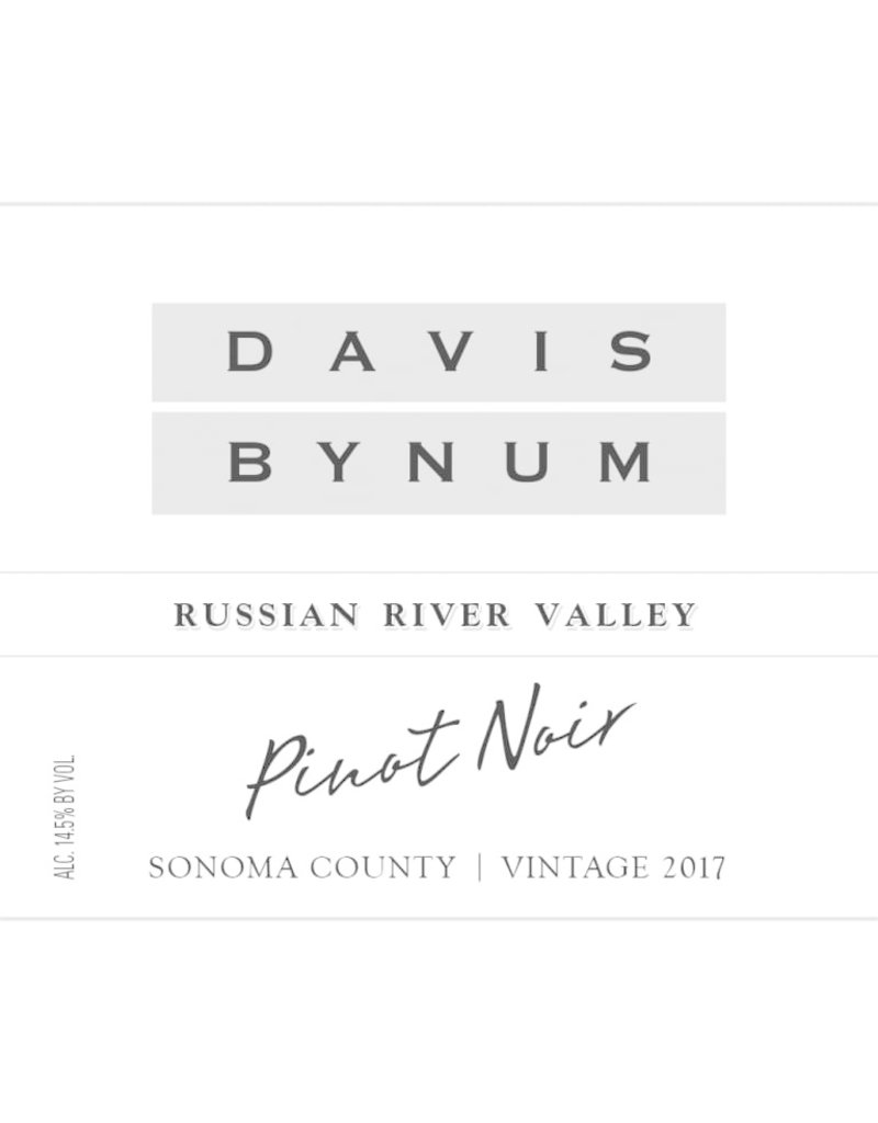 2017 Davis Bynum Russian River Pinot Noir