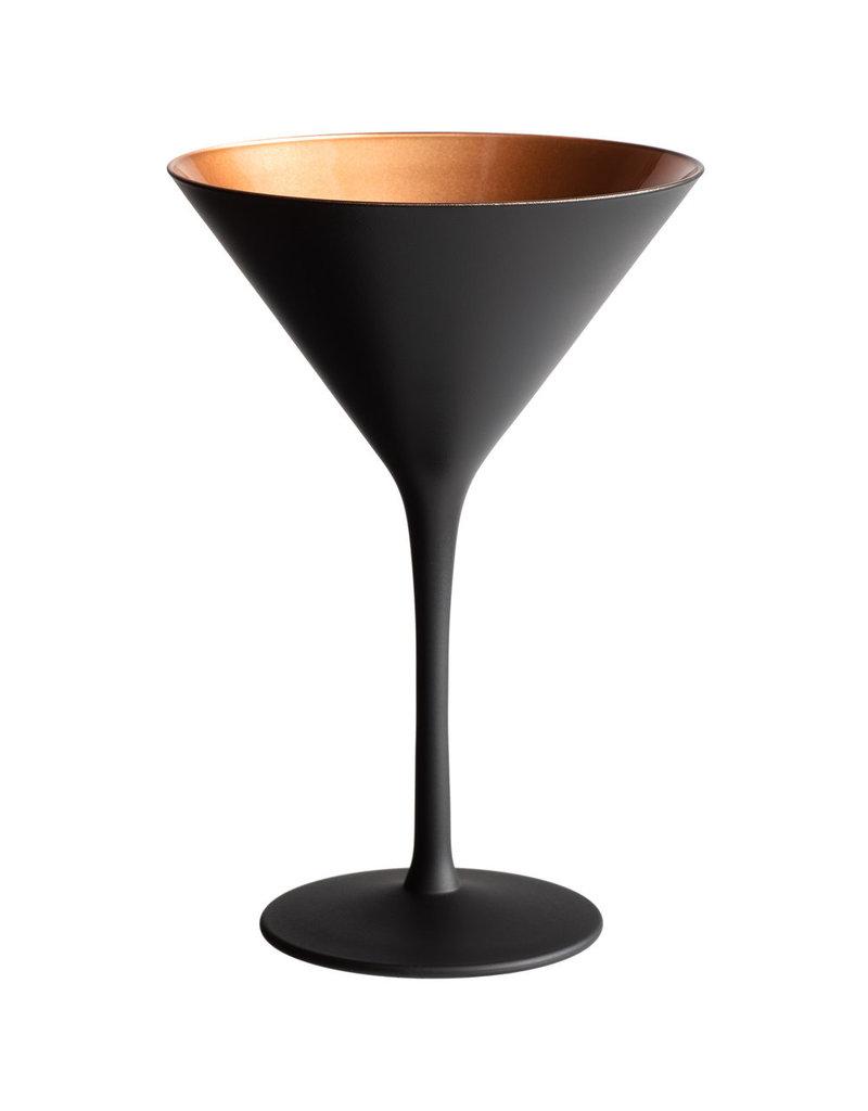Black copper martini
