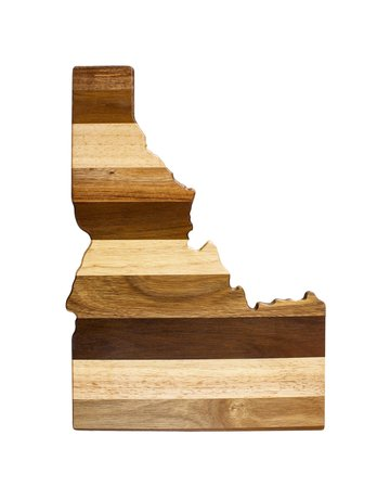 Idaho shiplap cutting board