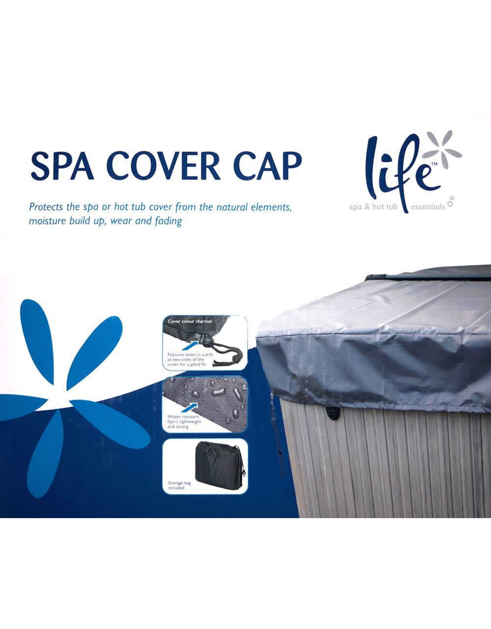 Life Spa Life Spa Cover Cap 8'