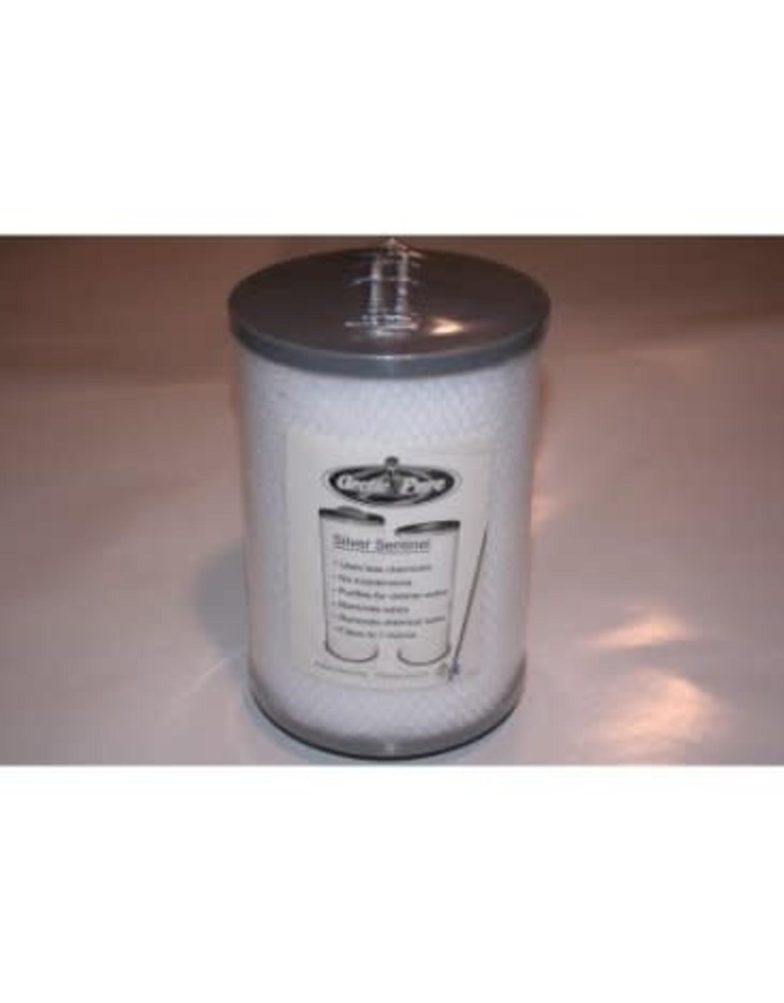 Arctic Pure Silver Sentinel Apollo Threaded Filter