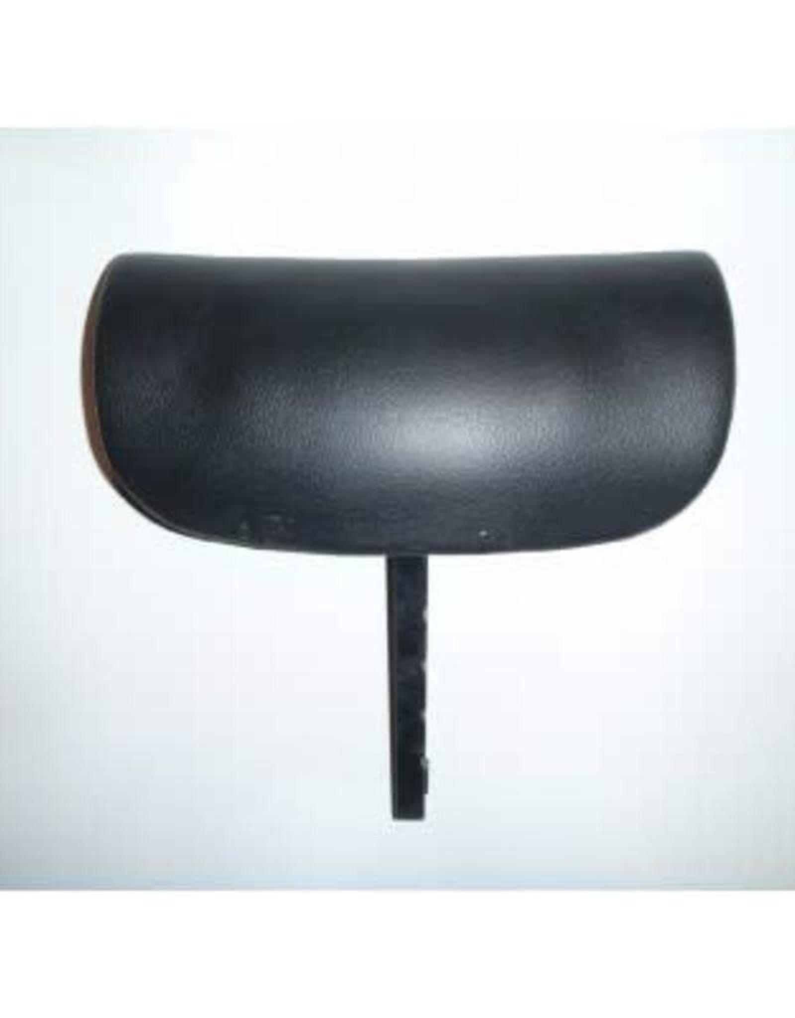 Pillow Adjustable Black w/mounting bracket