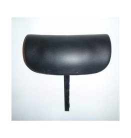 Pillow Adjustable Black w/mounting bracket
