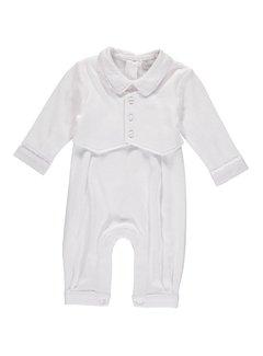 Vested Boy Baptism Outfit