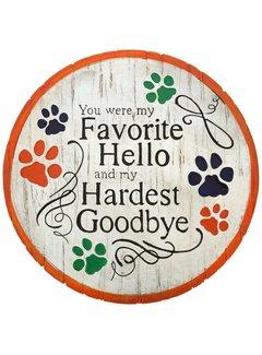 Hardest Goodbye Stepping Stone