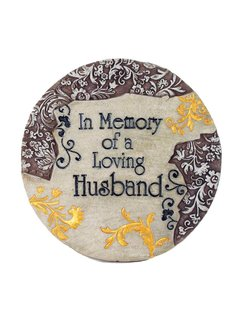 Memory of Loving Husband Stepping Stone