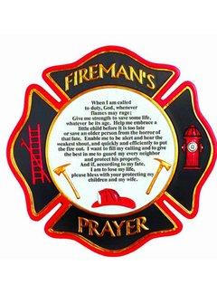 Fireman Prayer Stepping Stone