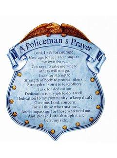 A Policemen's Prayer Stepping Stone