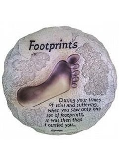 Footprints Stepping Stone