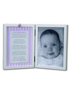 Little Granddaughter 5x7 Double Frame