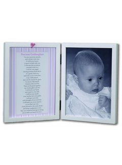 Precious Goddaughter 5x7 Double Frame