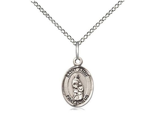 St. Anne Oval Medal with Chain