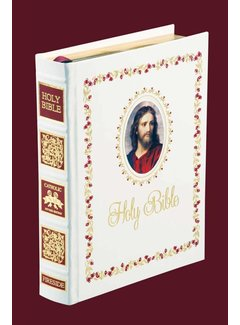 NABRE Signature Edition Family Bible-White Eurobond