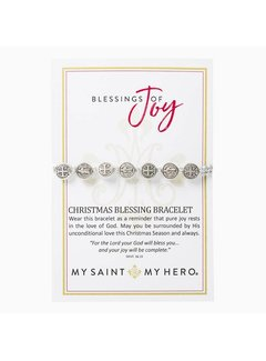 Blessings of Joy Christmas Blessing St. Benedict Bracelet