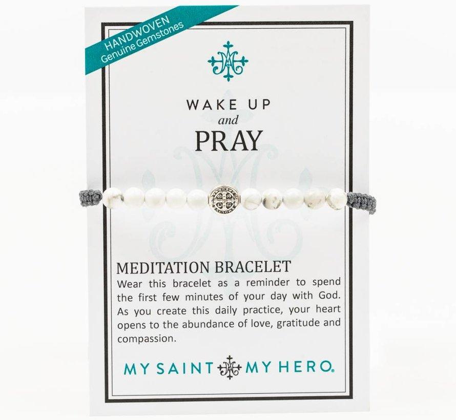 Wake up & Prayer Benedict Bracelet