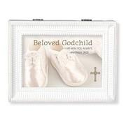 Beloved Godchild White Music Box