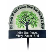Family Tree - Garden Stake